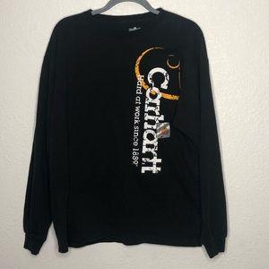 Carharrt Long Sleeve Graphic T-Shirt Medium